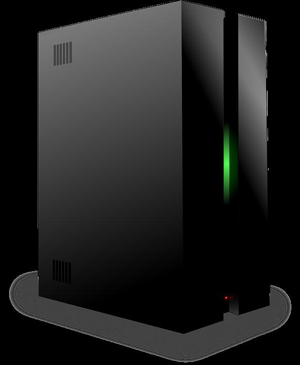 computer no brand black